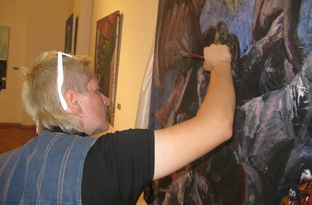 """Отворена изложба """"Уметници на условној слободи"""""""