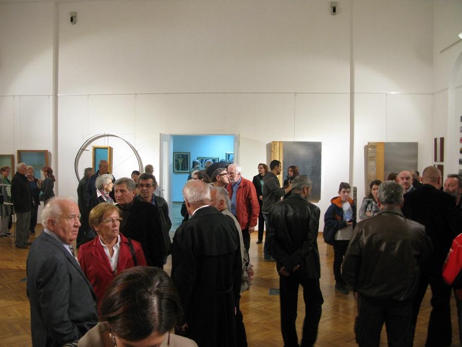 Отворена ретроспективна изложба слика и скулптура др Драгана Јевдића