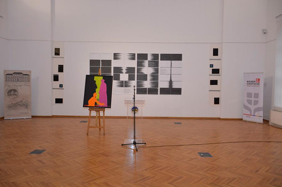 Отварање 2. Графичког бијенала у част Роберта Хамерштила