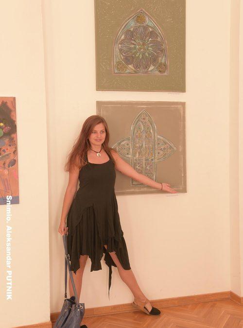 """Sa otvaranja izložbe 3. saziva likovne kolonije """"Agapi Art"""" pod nazivom """"Dijalog"""""""